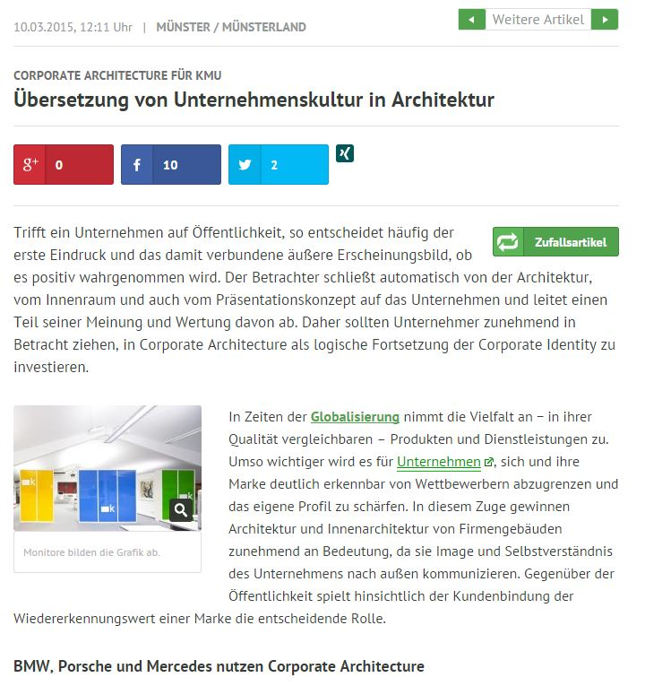 Corporate Architecture für KMU