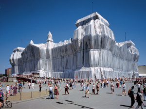Wrapped Reichstag Christo